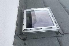 Einbau und Austausch von Flachdachfenstern